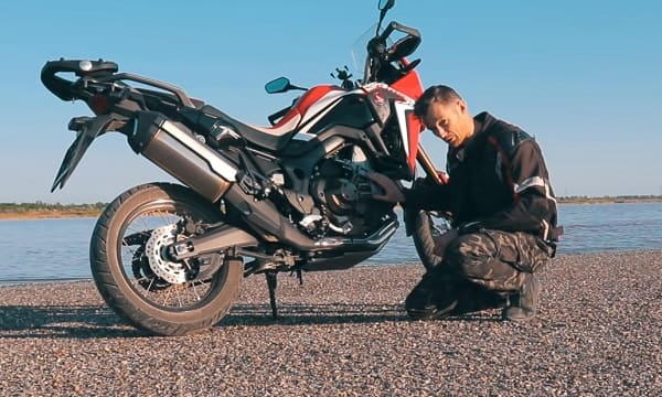 Honda CRF1000L Africa Twin ©Мастерская Pit_Stop